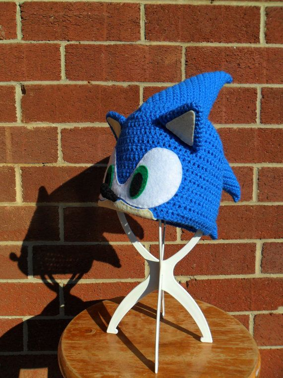 RESERVED for JBECKHUSEN - Sonic the Hedgehog Beanie  ae6ae01f194