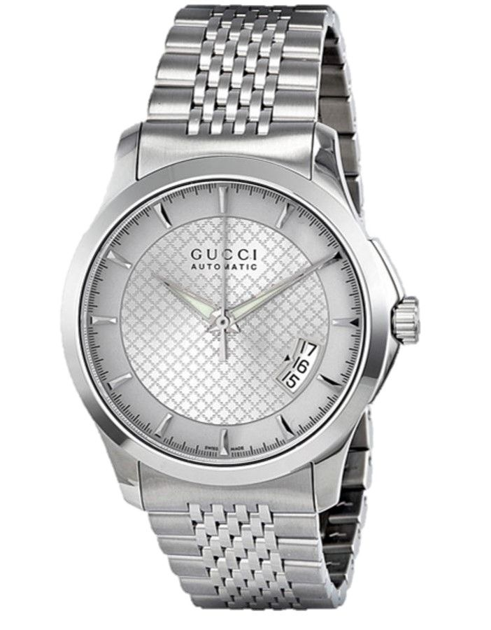 ab1d1ef7071 Gucci G-Timeless YA126417 Silver Dial Stainless Steel Men s Watch ...