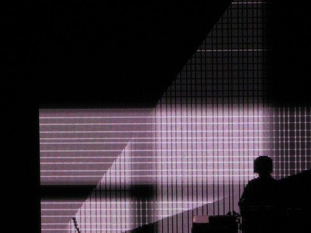 Squarepusher' Making crazy visuals on electronic sound