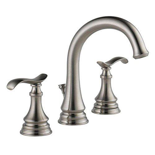 Delta 35730lf Sp Kinley Widespread Bathroom Faucet Delta Https Www Amazon Com Dp Bathroom Faucets Bathroom Faucets Brushed Nickel Brass Bathroom Faucets Delta roman tub faucet brushed nickel