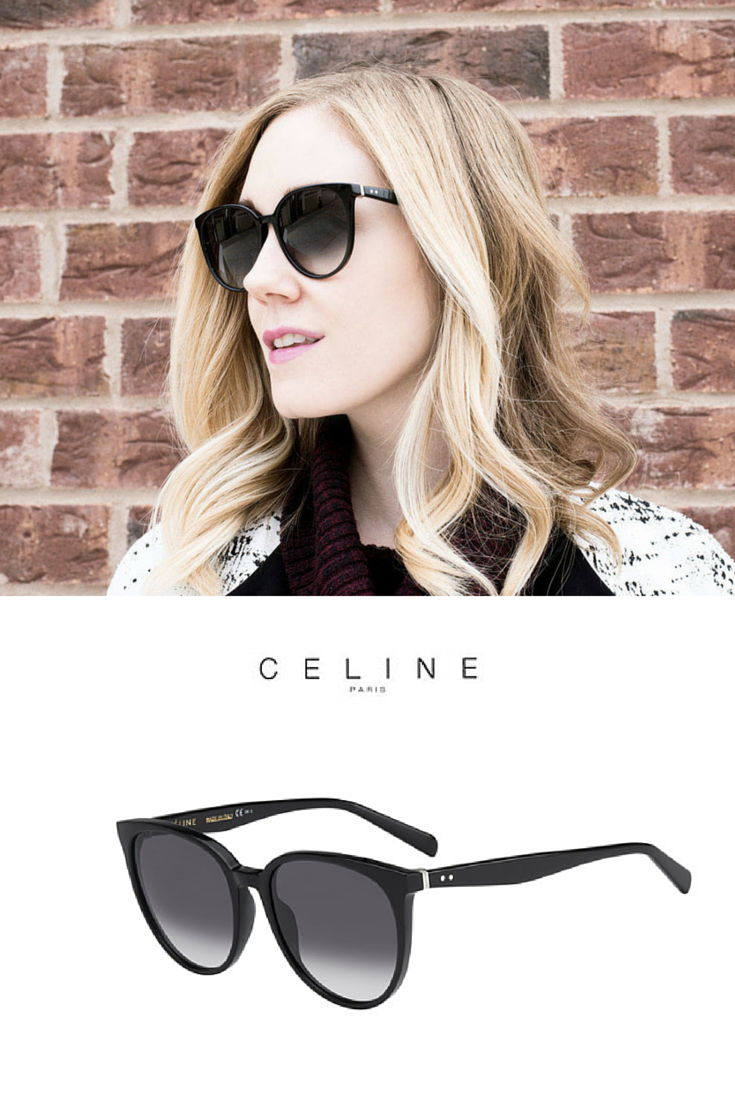 5a470844a5 Amazing woman fashion with Céline Thin Mary sunglasses. Pic   daintygirl.  http