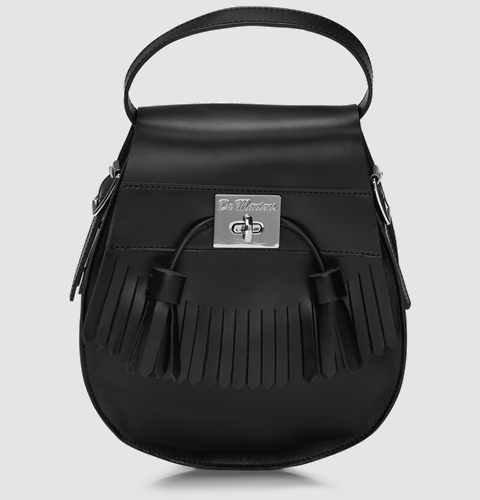 c5782284a5 Dr. Martens Tassled Saddle Bag...that looks like a giant sporran ...