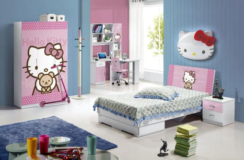 Bedroom Designs Kids Magnificent 20 Hello Kitty Bedroom Decor Ideas To Make Your Bedroom More Cute 2018
