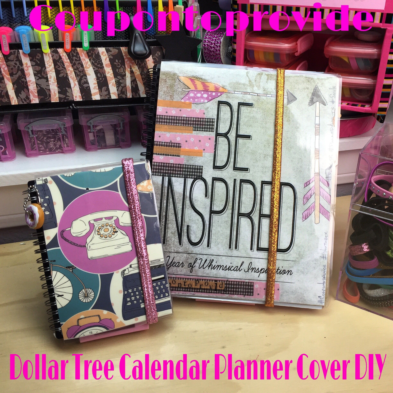 Video 2 Diy Planner On A Budget Updatemini Weekly Planner Dollar Tree Diy Planner Planner Covers Diy Craft Planner