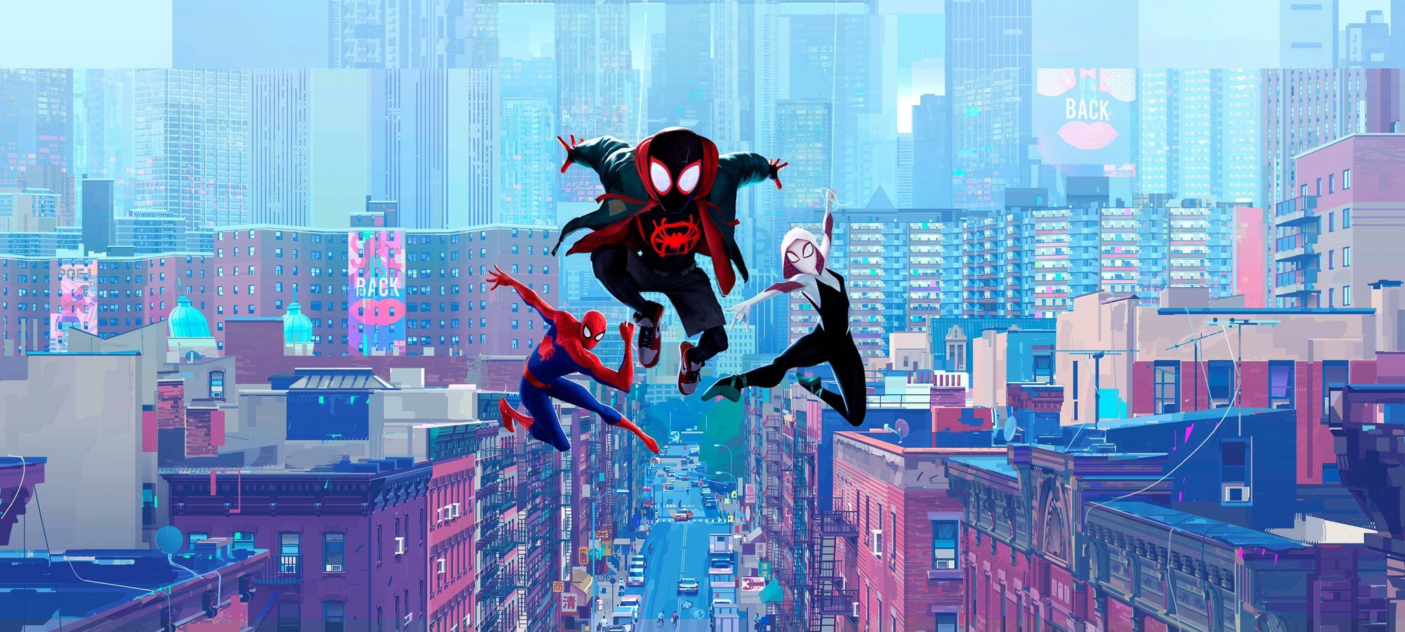 Hassan Hamid Watch The Globe On Twitter Spider Verse Comic Book Wallpaper Spiderman Spider man into spider verse wallpaper