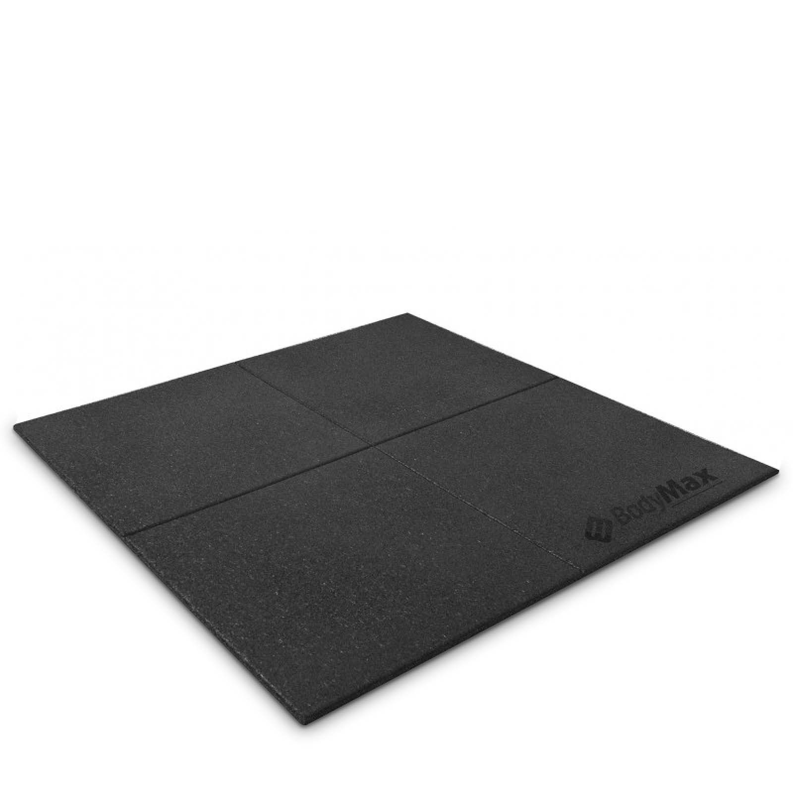 Bodymax enduramax black rubber gym floor tiles 1m x 1m x 20mm bodymax enduramax black rubber gym floor tiles x x gym equipment floor mats accessories at powerhouse fitness doublecrazyfo Choice Image