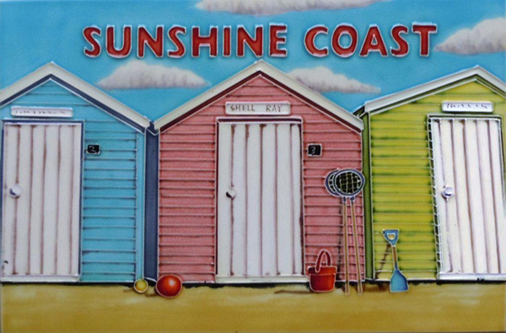 Sunshine Coast Decorative Ceramic Tile By Martin Wiscombe Decorative Ceramic Tile Ceramic Tiles Picture Tiles