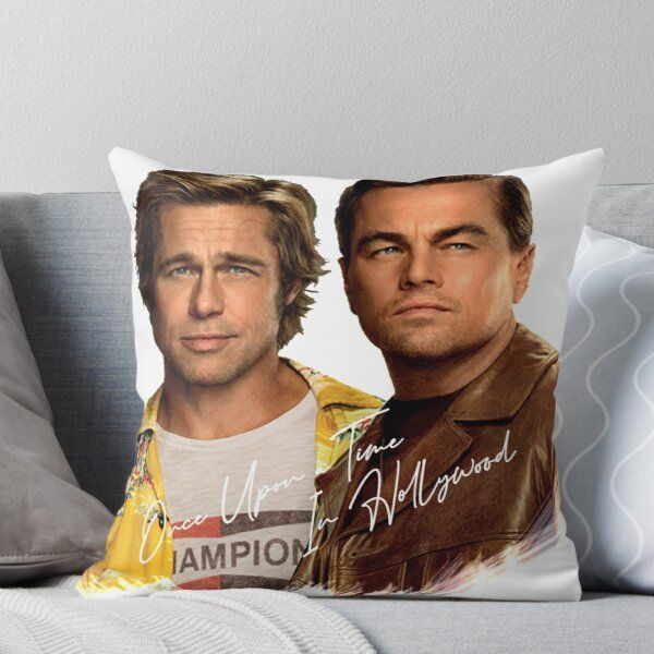 'Awesome Merch of Once Upon A Time In Hollywood' Throw Pillow by theurbanbazaar