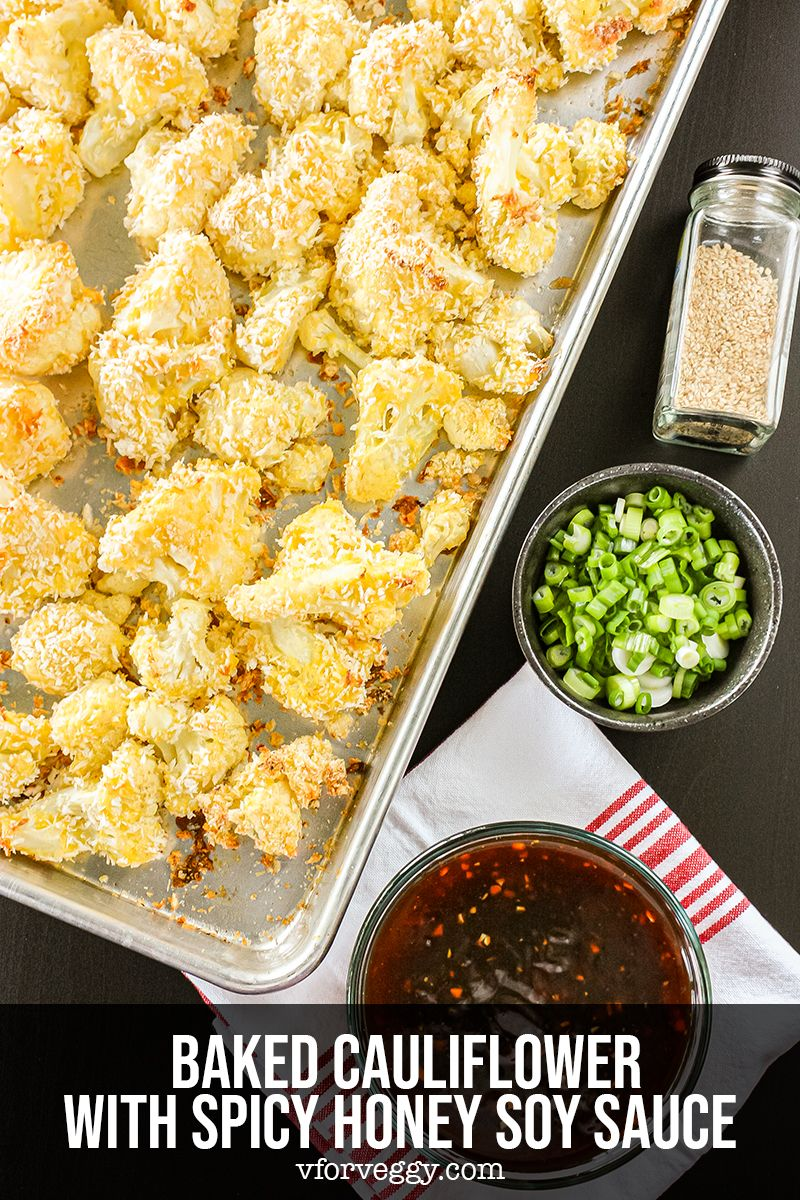 This baked cauliflower will convince you that Meatless