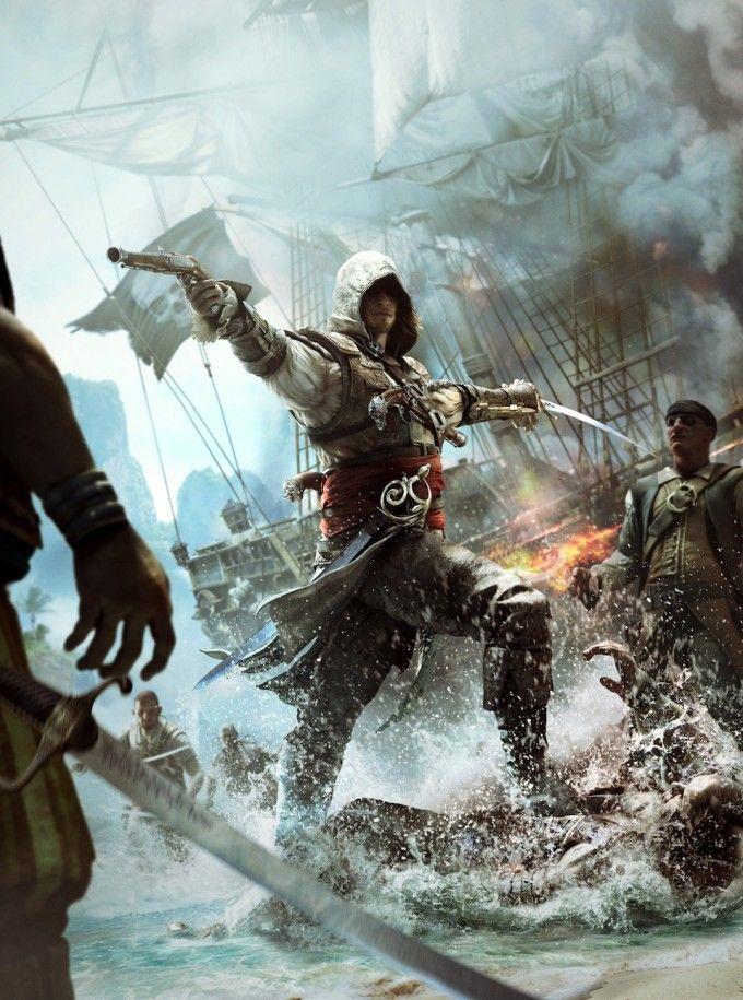 Assasin S Creed Cover Art By Xavier Thomas Concept Art World Assassins Creed Black Flag Assassin S Creed Black Assassins Creed