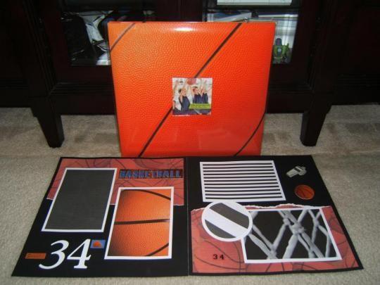 Made Just For You Scrapbooks: Basketball Scrapbook Album