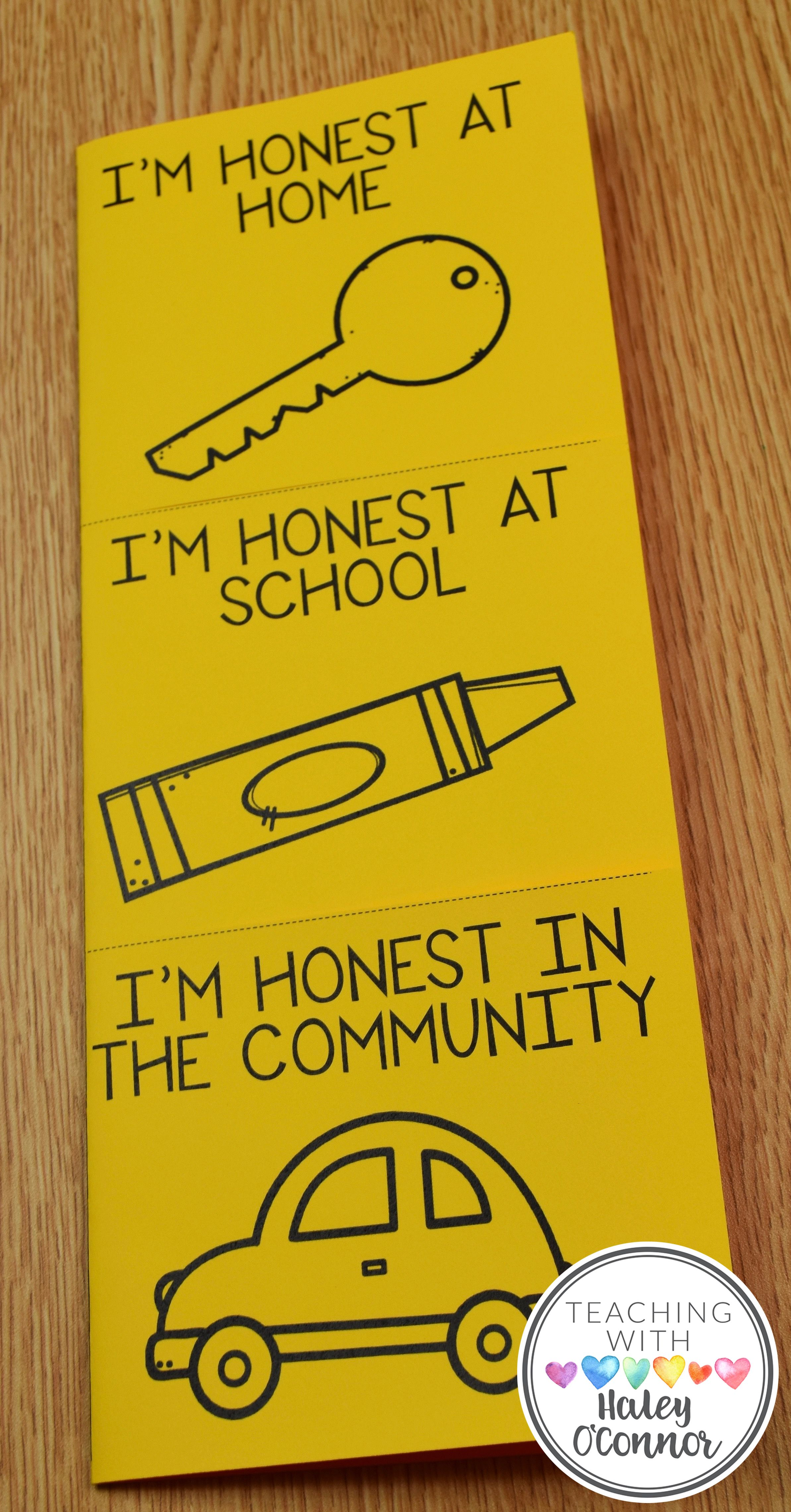 Honesty Flipbook