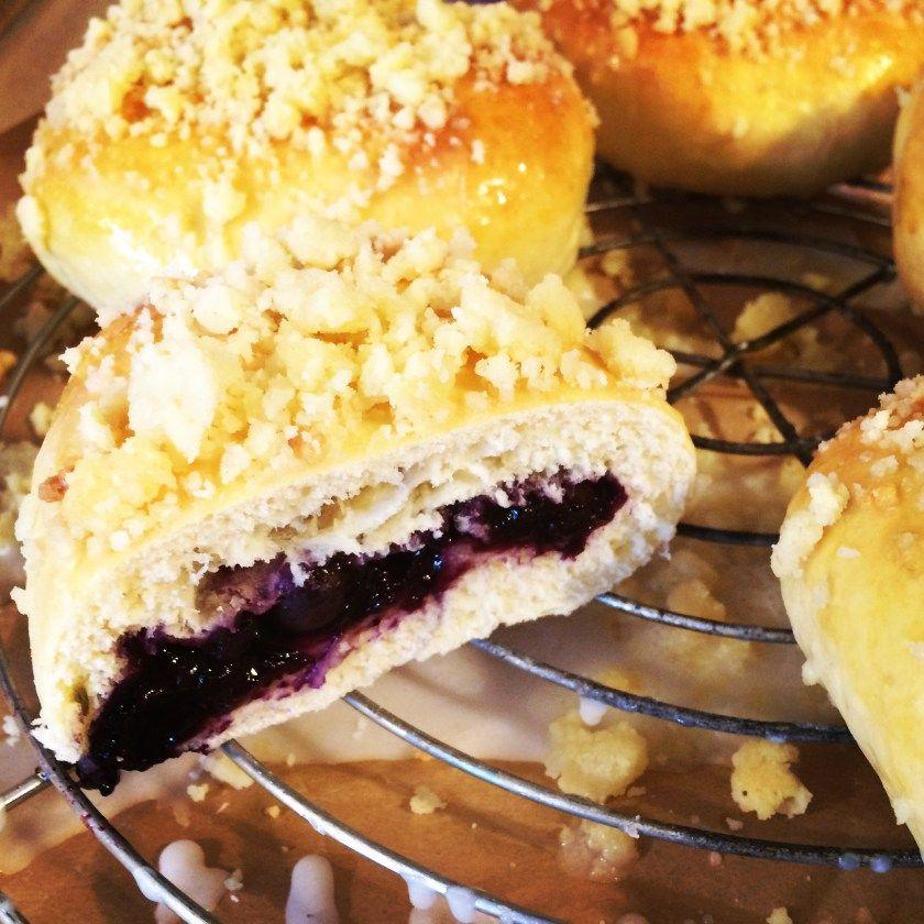 Rezept Für Köstliche Jagodzianki! Polnische Blaubeere Hefebrötchen