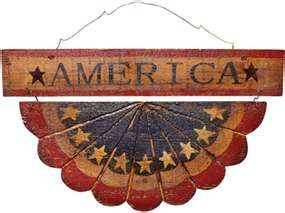 Americana Wall Decor Plaques Signs Americana Decor  Americana Home Accessories  Country Patriotic