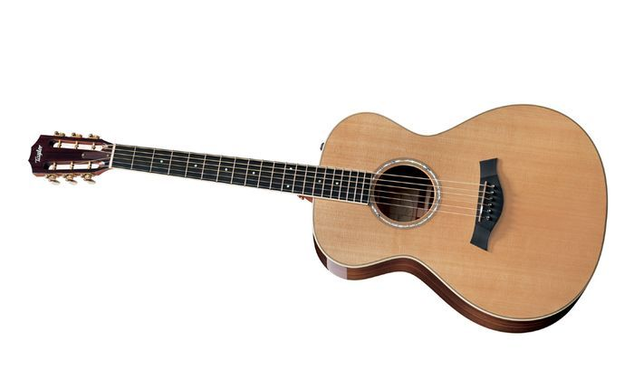 Taylor 2012 Gc7e-l Rosewood/cedar Grand Concert Left-handed Acoustic-electric Guitar Natural