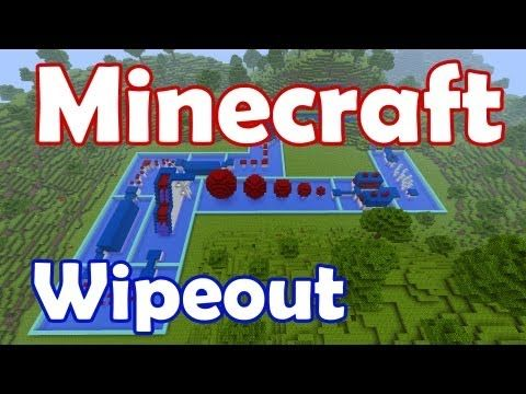 Wipeout Map for Minecraft 1 8 8 - Like the Wipeout TV show, the