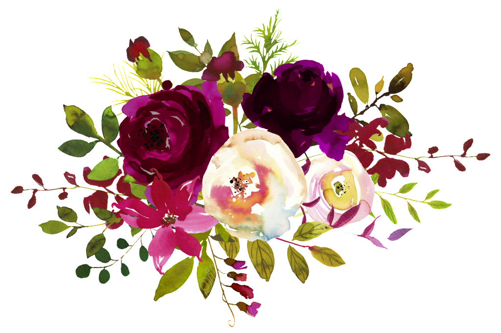 Bright Flower Decoration Vector Em 2020 Clipart De Flores