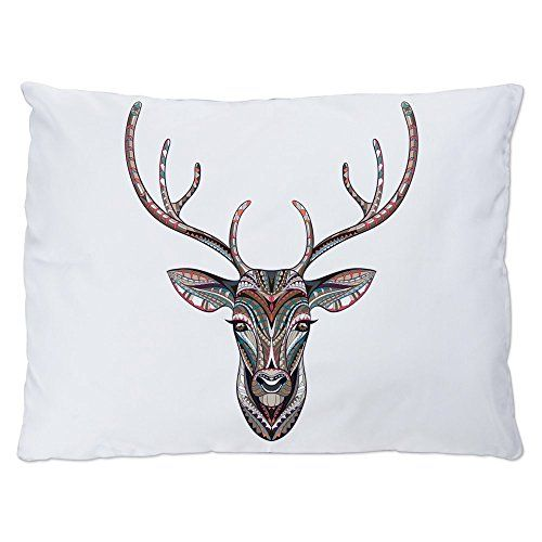 Outdoor Luxury Plush Dog Bed Patterned Trophy Deer Head Hunter - how to find a head hunter