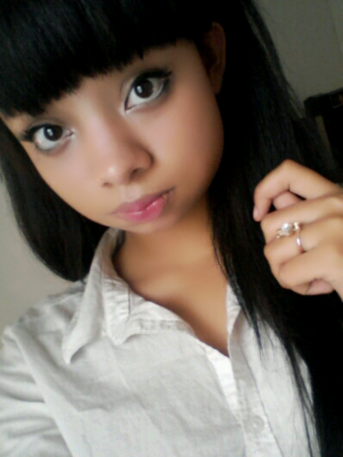 (1) black ulzzang Tumblr Kawaii black girl, Beauty face