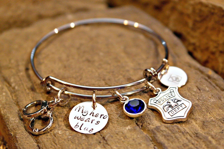 Police Wife Bracelet Friend