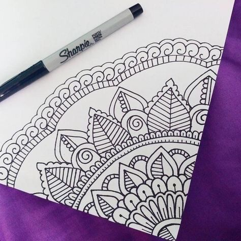 40 Beautiful Mandala Drawing Ideas How To Doodle Desenleri Zentangle Desenler Ve Cizim Egitimleri