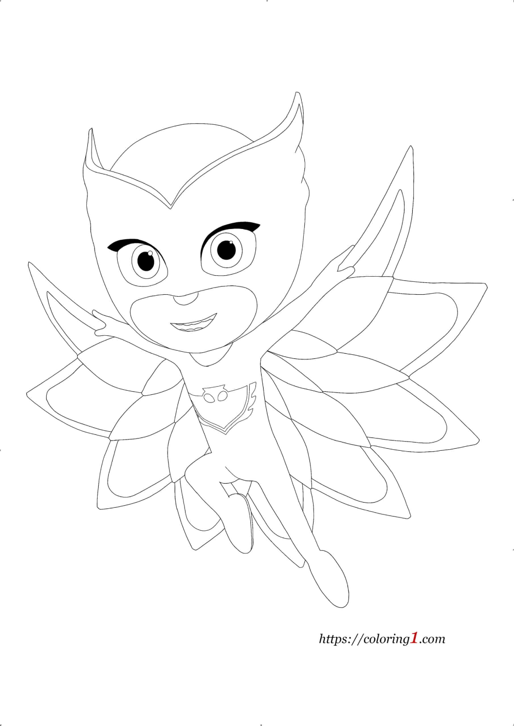 Pin On Pj Masks Coloring Pages