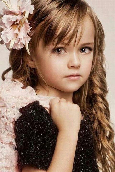 Little girl hair w bangs