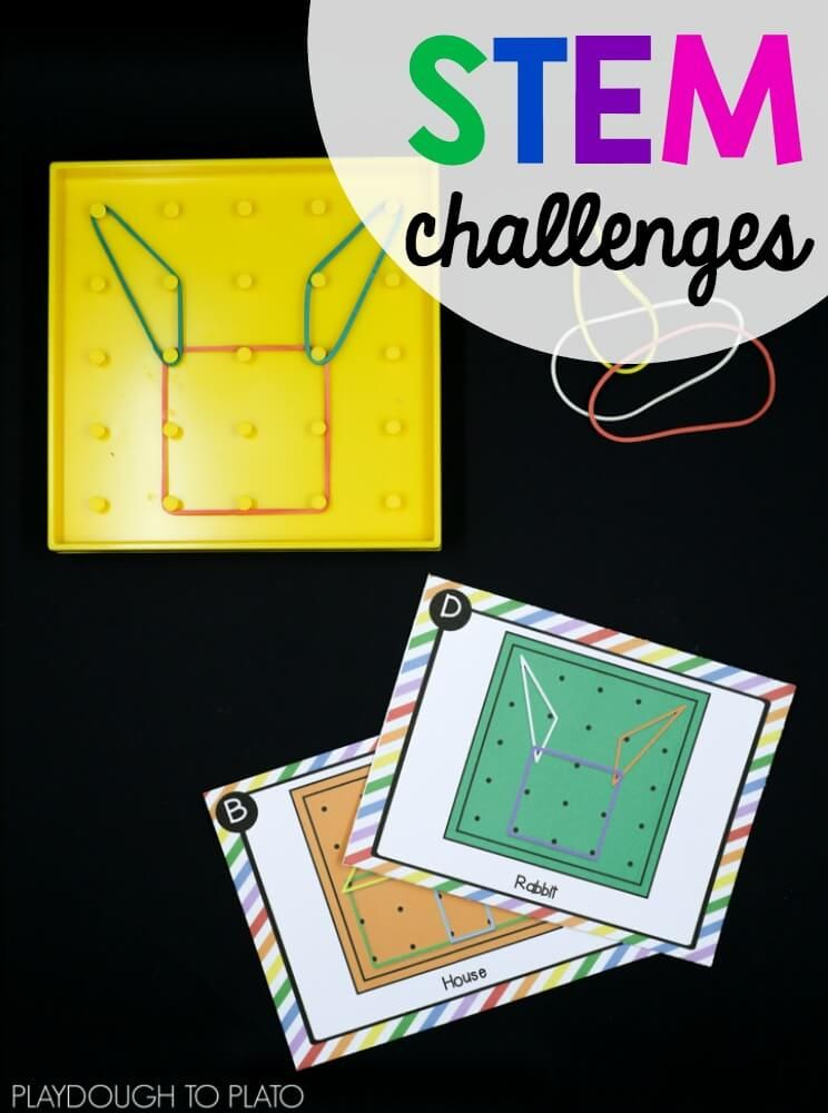 Geoboard stem challenges geoboard stem challenges playdough to plato fandeluxe Choice Image