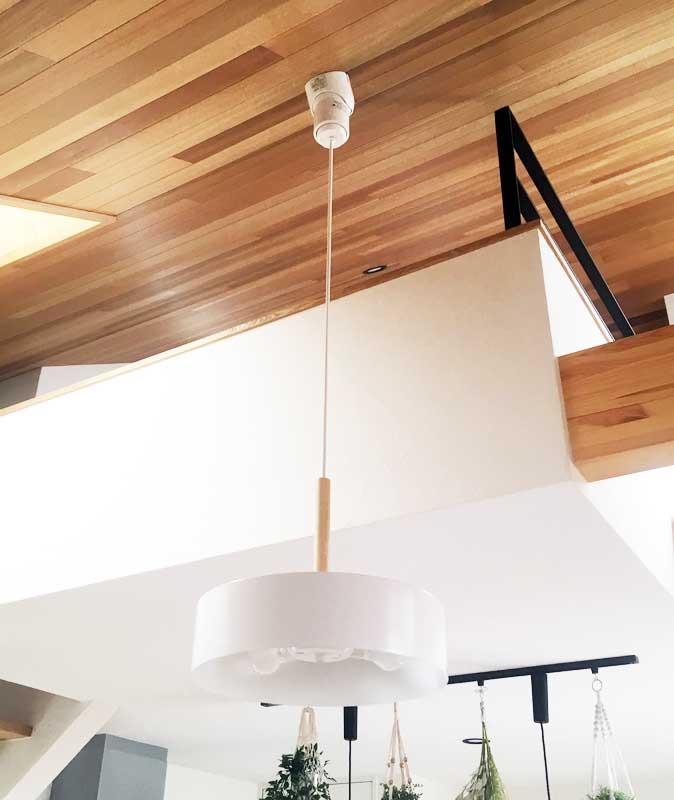 ホワイトのペンダントライト ペンダントライト 天井 天井ランプ