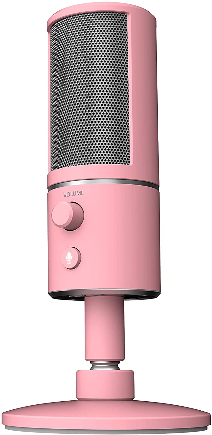 Razer Seiren X Usb Streaming Microphone Professional Grade Built In Shock Mount Supercardiod Pick Up Pattern Microphone Gaming Microphone Usb