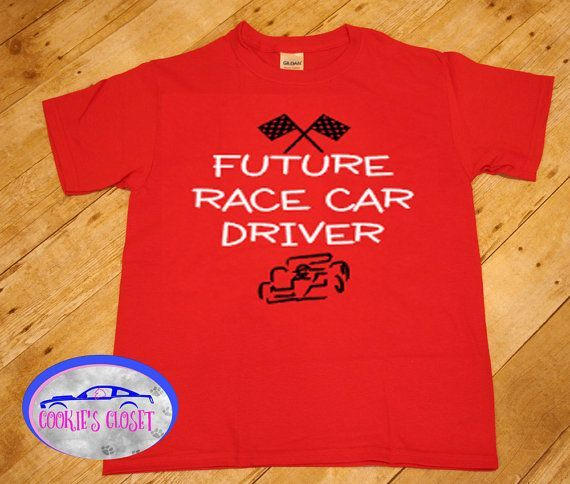 f0477617c Perfect gift for that kid who loves cars! Future Race Car Driver Youth or  Toddler