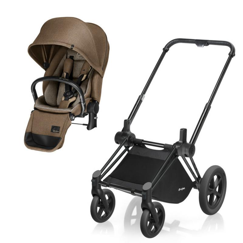 Cybex Priam Complete AllTerrain Stroller Matte Black