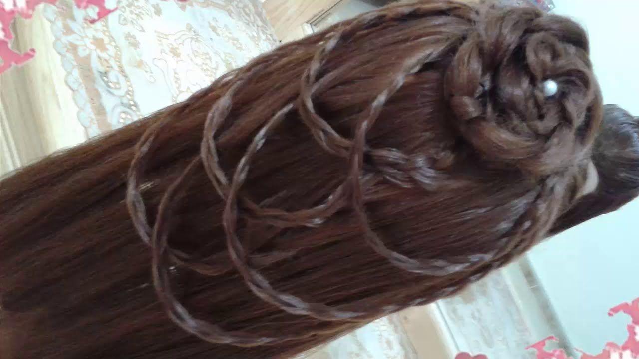peinados sencillos faciles para cabello largo bonitos y rapidos con tren