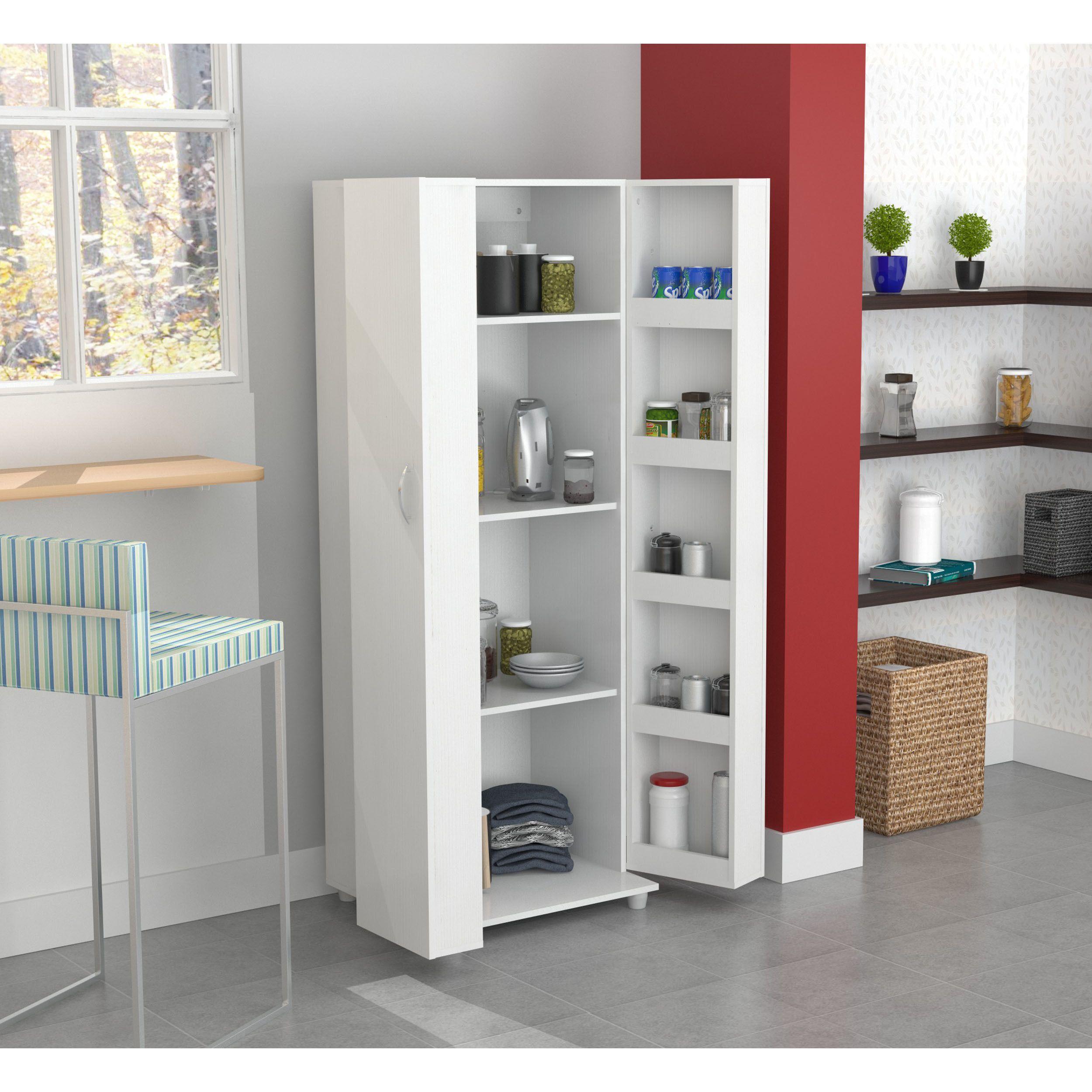 Add storage to your kitchen with the Laricina white Kitchen Storage
