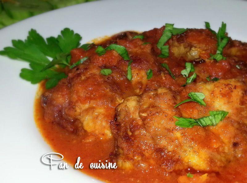 Chtitha bonite (bonite à la sauce tomate)