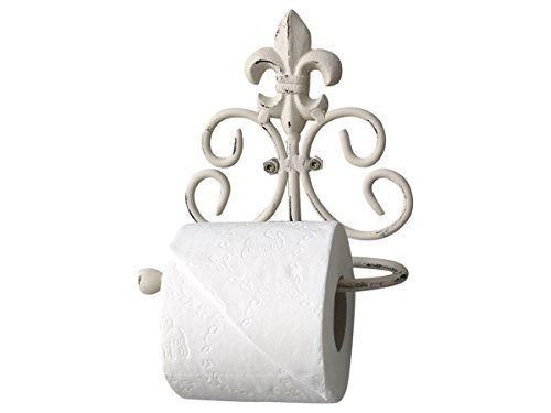 WC Toilettenpapier-Halter für Landhaus Badezimmer - Shabby ...