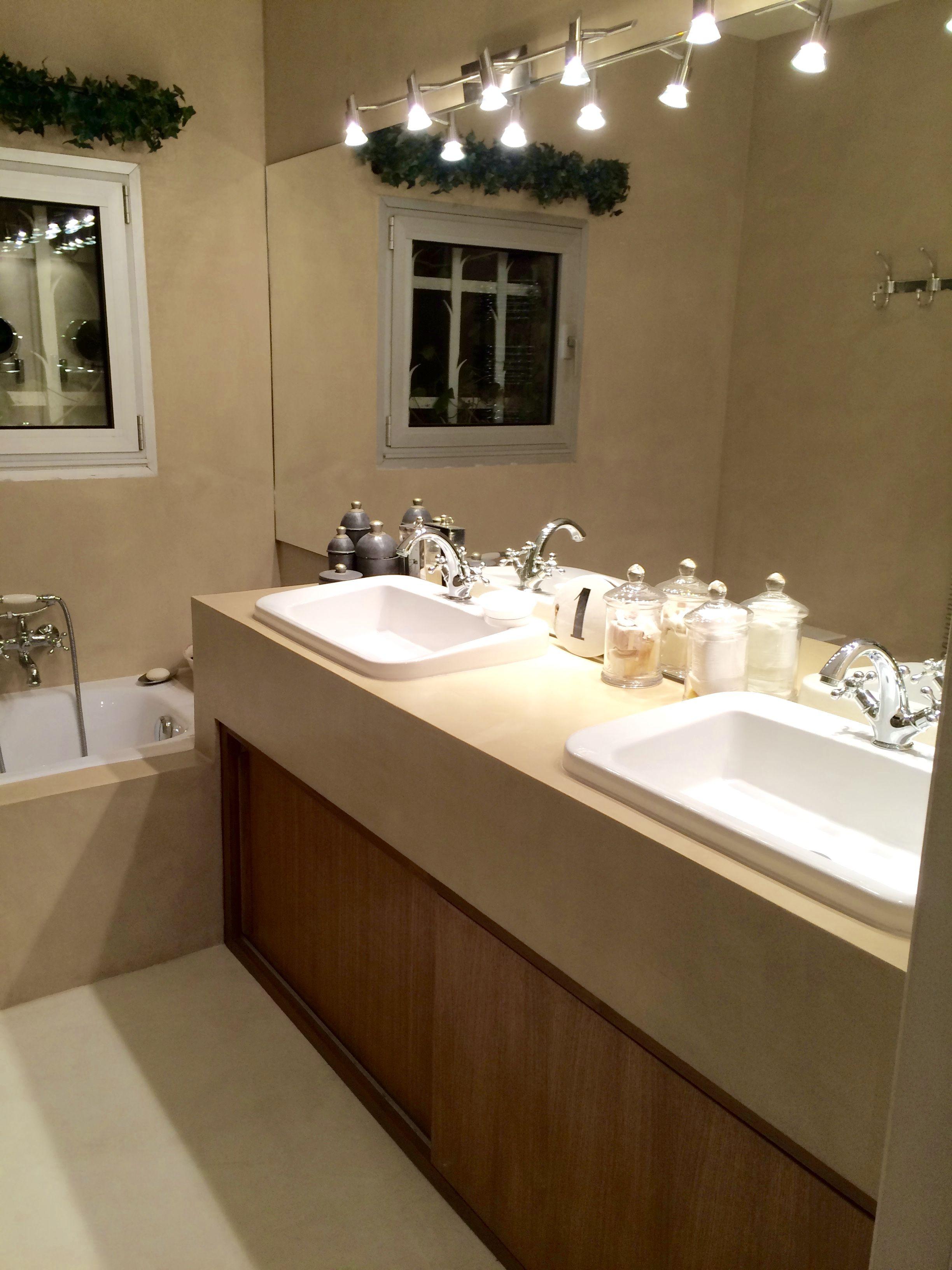 Ventiler Une Salle De Bain Sans Vmc ~ b cc salle de bain en b ton cir couleur beige m lisse ma s b