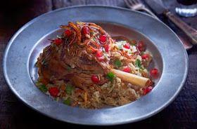 LEBANESE RECIPES: Middle Eastern style lamb recipe