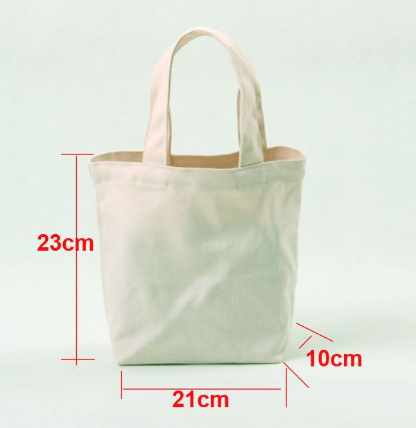Details About 10x Diy Eco Blank Canvas Shoulder Bags Totes