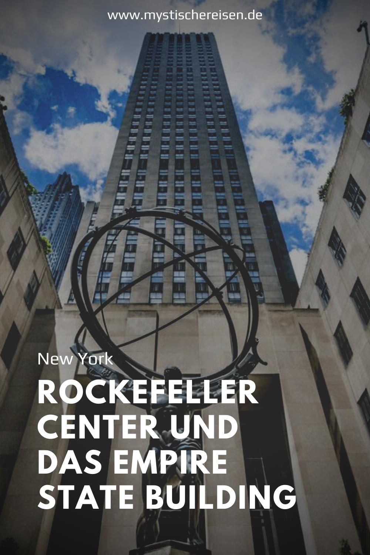 Bewundern Sie die Skyline von NYC bei Sonnenuntergang auf einem der berühmtesten Gebäude von New York, dem Empire State Building oder dem Rockefeller Center. Vom Rockefeller Center können Sie nicht nur das Empire State Building sehen, Sie werden auch einen schönen Blick auf den Central Park haben.   #NewYork #EmpireStateBuilding #RockefellerCenter #Reise #Reisen #Urlaub #Natur #Ferien #mystischereisen #Sehenswürdigkeiten #Attraktionen #reiseziele #reisetipps #Kurztrips #Städtereisen #Fernreisen