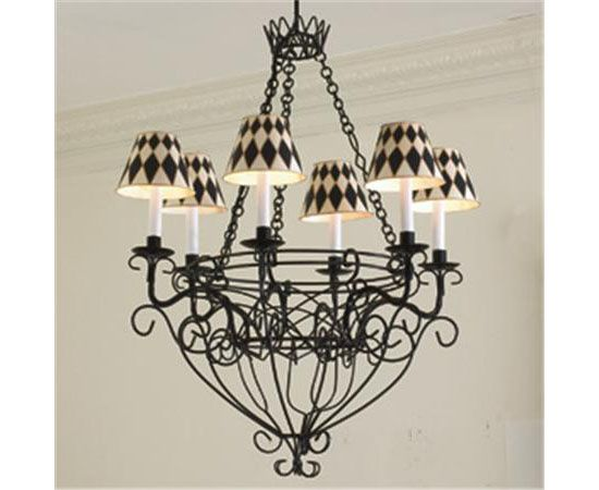 Designer baskets large french basket chandelier designer french wire basket chandelier is an elegant lighting solution for your modern home aloadofball Images