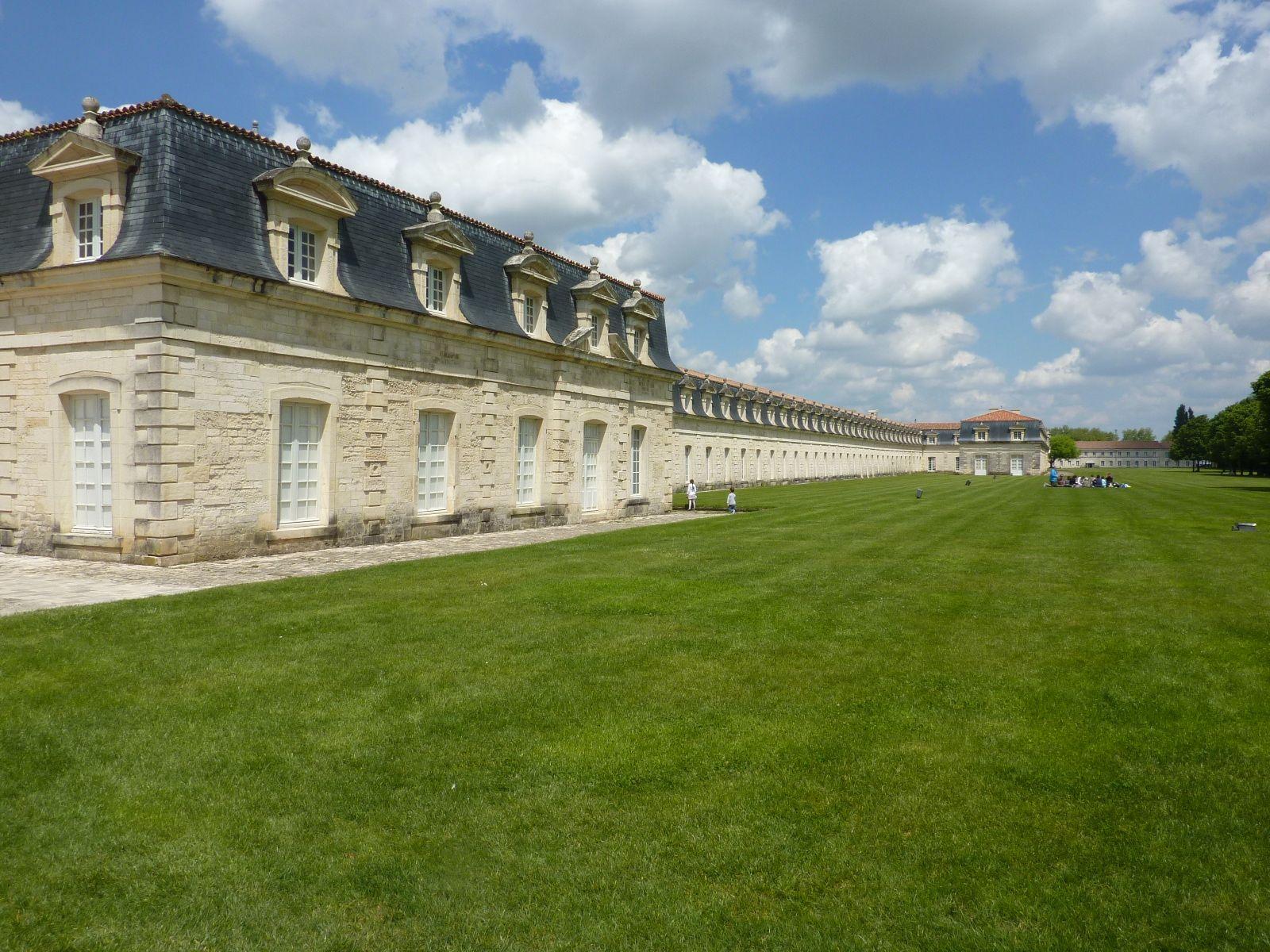 La corderie royale à Rochefort sur mer  (Charente maritime )