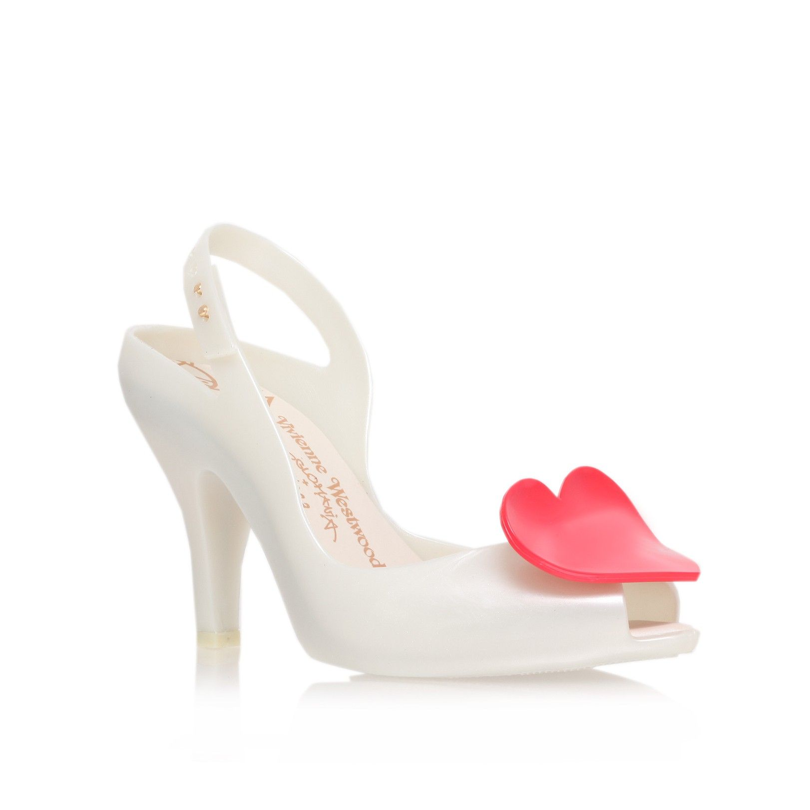Vivienne Westwood Lady Dragon Heart Heeled Shoes 288rxlM