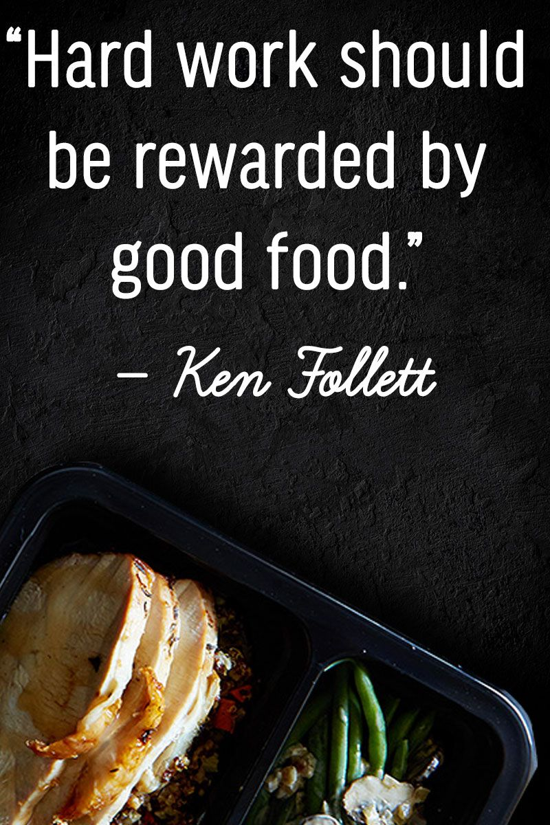 Treat yourself after a hard week | Food Quotes | Food quotes, Be