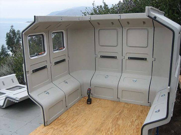 Modular Camper Takes 1 Person 1 Hour And 1 Screwdriver To Build