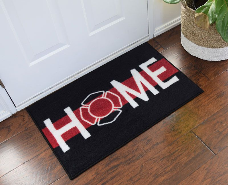 Firefighter Support Welcome Home Doormat If you re a Firefighter  check out  this Firefighter  Firefighter DecorFirefighter  Best 25  Firefighter decor ideas on Pinterest   Firefighter gifts  . Firefighter Room Decorations. Home Design Ideas