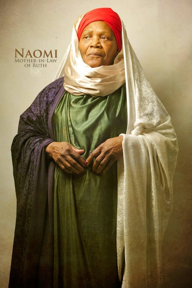 Naomi, mother-in-law of Ruth (by James C. Lewis) | etnique | Timée ...