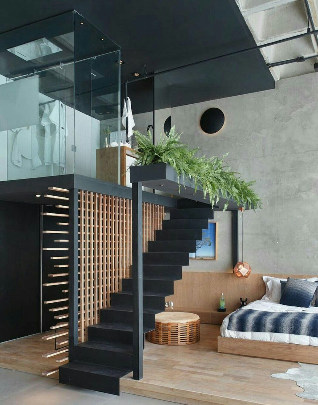 Best Pin By Liz Mulgrew On Lofts Loft Interiors Staircase 400 x 300