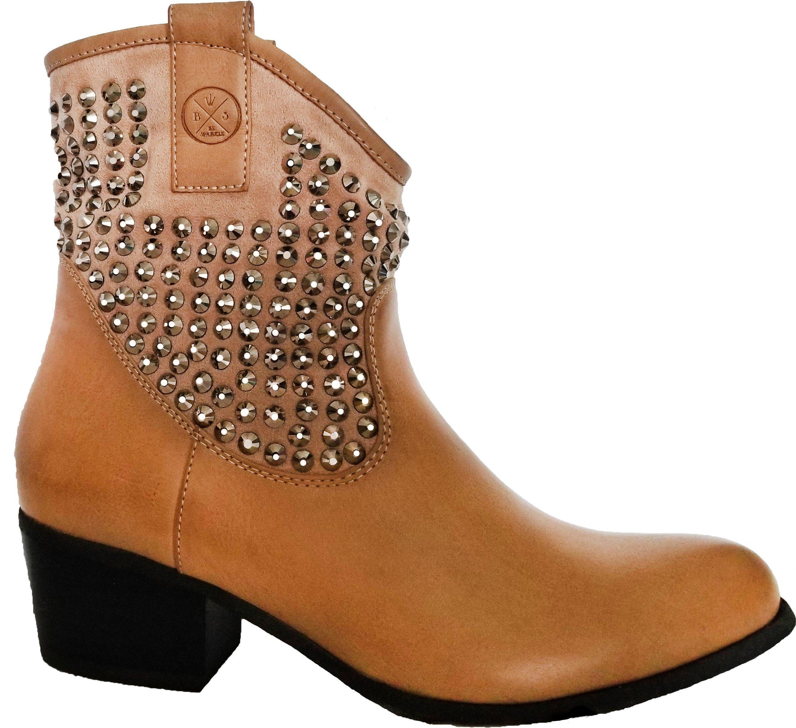 women taupe heel on booties for basel slip s boots low tempting closed walking main comforter block stack toe herstyle comfortable temptng