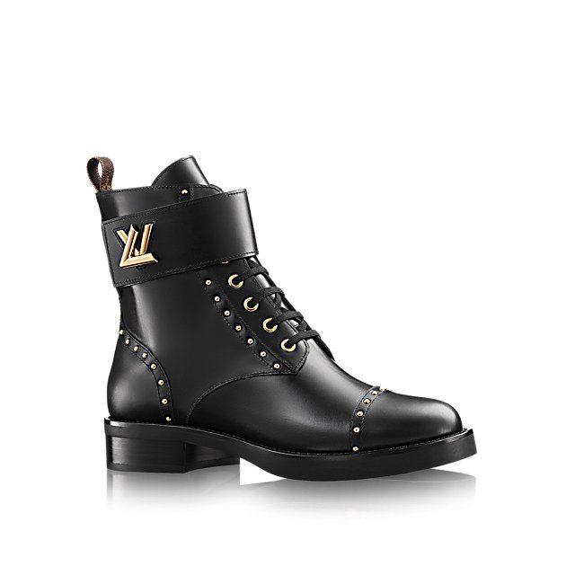 Cadeau Noël de luxe pour Femme - Ranger Rockabily Femme Souliers   LOUIS  VUITTON 4233c98224c